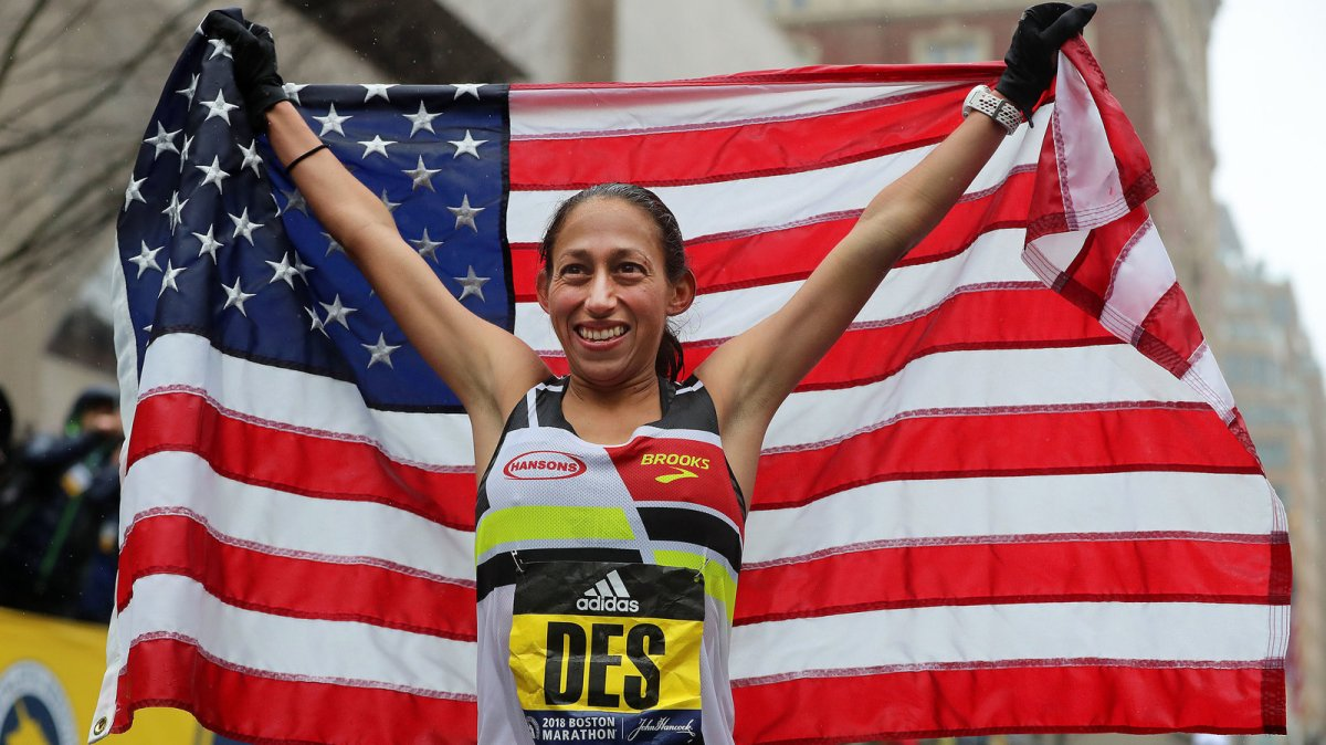Runner Tells Herself 'Just Show Up For One More Mile' — And Wins The BostonMarathon